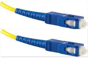 Fiber Optic Patch Cord SC-SC/UPC Simplex Single-Mode 9/125um 3M