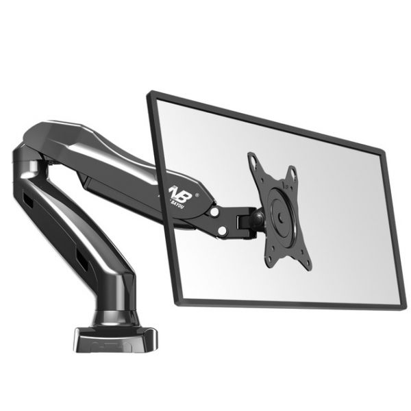 NB-F80-Desktop17-27-LCD-LED-Monitor-Holder-Arm-Gas-Spring-Full-Motion-TV-Mount-Loading